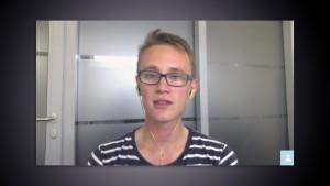 Frederik Jensen EVS-volontør i Belgien