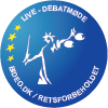 Logo for livestreaming debatmøde (100x100px)