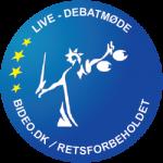 Logo for livestreaming debatmøde (250 x 250px)