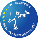 Logo for livestreaming debatmøde (600 x 600 px)